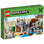LEGO Minecraft Ökenstationen