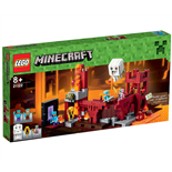 LEGO Minecraft Fästningen i The Nether