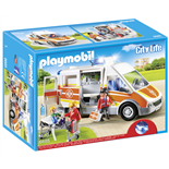 Playmobil Ambulans med Ljus och Ljud
