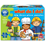 Orchard Toys Pussel 3 Bitar What do I do?