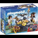 Playmobil Skattgömställe med Pirat