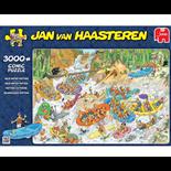 Jan van Haasteren Pussel 3000 Bitar Wild Water Rafting