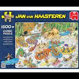 Jan van Haasteren Pussel 1500 Bitar Wild Water Rafting