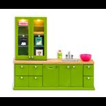 Lundby Diskho + Diskmaskinset Grön