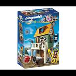 Playmobil Kamouflerat Piratfort med Ruby