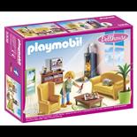 Playmobil Vardagsrum med Öppen Spis