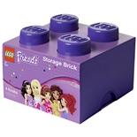 LEGO Förvaringslåda 4 Friends Lila