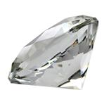 Diamant i Glas 8 cm