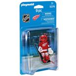 Playmobil NHL Detroit Red Wings Målvakt