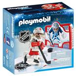 Playmobil NHL Ishockeymålträning