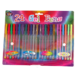 Gelpennor 24-pack