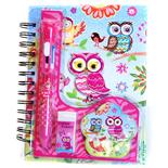 Dagbok med Penna Uggla