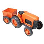 Green Toys Traktor med Släp