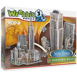 Wrebbit 3D Pussel 900 Bitar New York Collection Midtown West