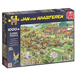 Jan van Haasteren Pussel 1000 Bitar Lawn Mower Race