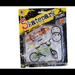 Fingerskateboard och Cykel