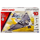 Meccano 10 Model Set Flight Adventure