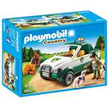 Playmobil Terrängbil med Skogsvaktare
