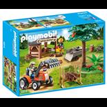 Playmobil Skogsarbetare med Traktor