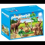 Playmobil Hjortfamilj med Kalv