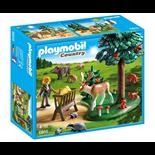 Playmobil Skogsdunge med Foderplats