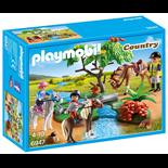 Playmobil Ponnyridlektion