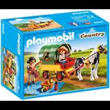Playmobil Picknick med Ponnyvagn