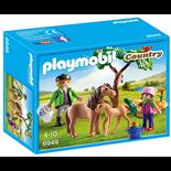Playmobil Veterinär med Ponny och Föl