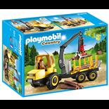 Playmobil Trätransport med Kran