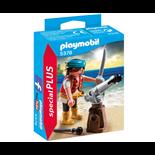 Playmobil Pirat med Skeppskanon i Brons