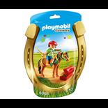 Playmobil Skötare med Blomsterponny