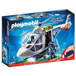 Playmobil Polishelikopter med LED-ljus