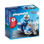 Playmobil Polismotorcykel med LED-ljus