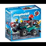 Playmobil Rånare med Fyrhjuling