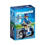 Playmobil Poliskvinna med Balans Fordon