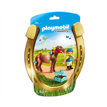 Playmobil Skötare med Fjärilsponny