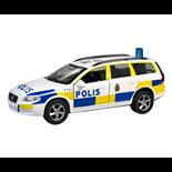 Junior Driver Polisbil Volvo V70 med Ljud och Ljus