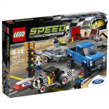LEGO Speed Champions Ford F-150 Raptor & Ford Model A Hotrod