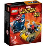 LEGO Marvel Super Heroes Mäktiga Mikromodeller Captain Ameri