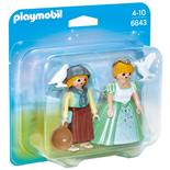 Playmobil Duopack Prinsessa och Piga