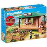 Playmobil Vaktstuga för Skadade Djur