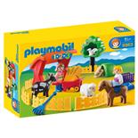 Playmobil 1-2-3 Barnbondgård