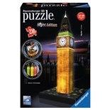 Ravensburger 3D Pussel 216 Bitar Night Edition Big Ben