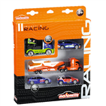 Majorette Racing Collection 5-pack Bilar