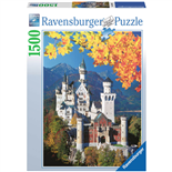 Ravensburger Pussel 1500 Bitar Neuschwanstein in Autumn
