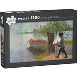 Kärnan Pussel 1500 Bitar Carl Larsson Esbjörn med sin