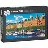 Kärnan Pussel 500 Bitar Stockholm Sweden