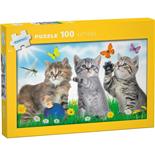 Kärnan Pussel 100 Bitar Kittens