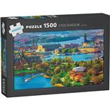 Kärnan Pussel 1500 Bitar Stockholm Sweden