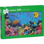 Kärnan Pussel 200 Bitar Coral Reef